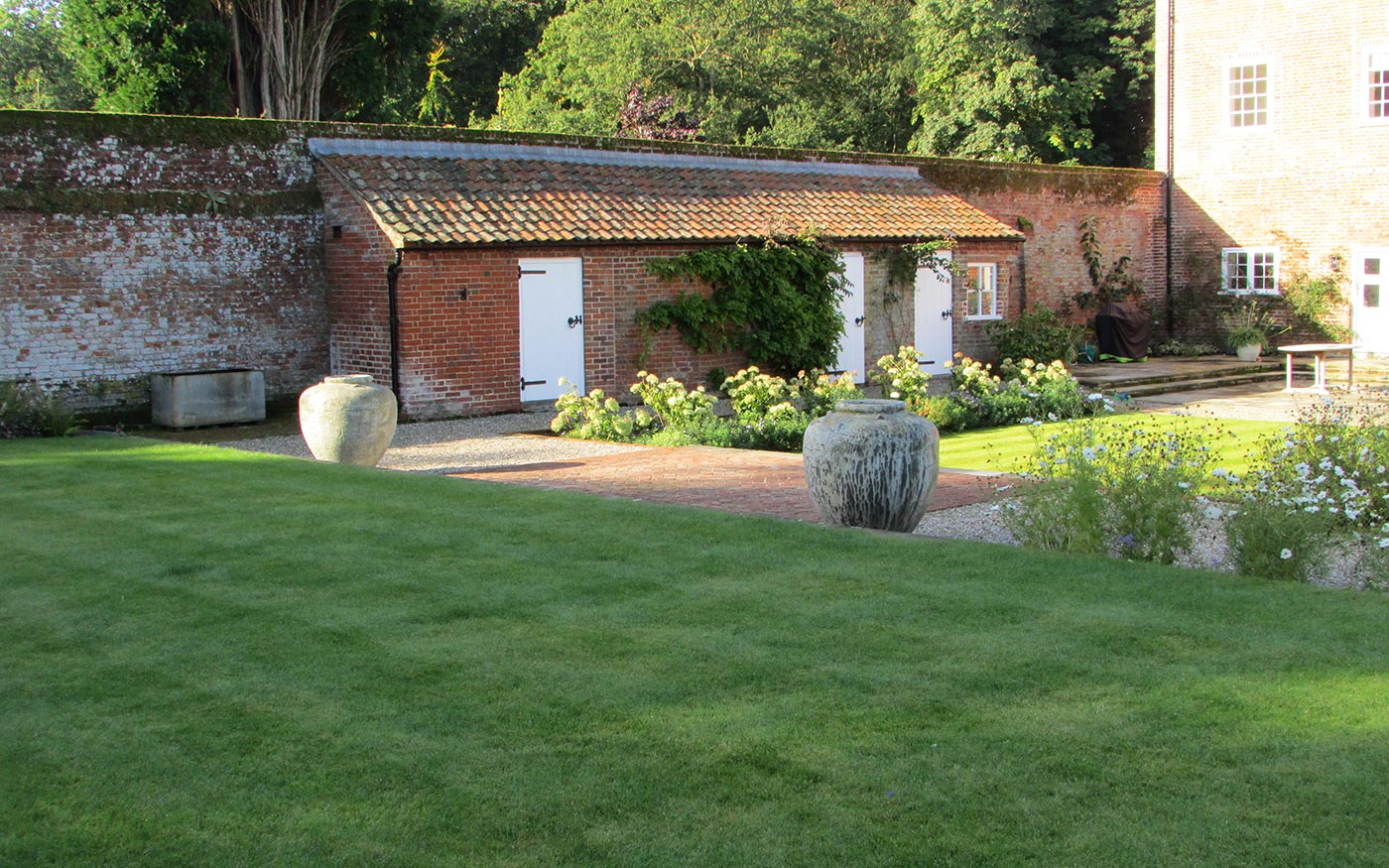 a walled garden | susannah mcdougall | landscape design | norfolk